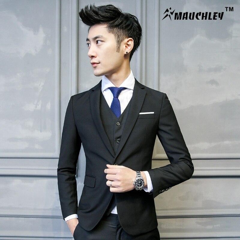 Βαμβάκι Tuxedo Μπουφάν με παντελόνι Vest 3 - Ανδρικός ρουχισμός - Φωτογραφία 3
