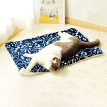 Big Dog Pet Mat Bed House Cat Mattress Dog Beds Sofa Washable For Small Medium Large Dogs Washable Coral Velvet Soft Mat