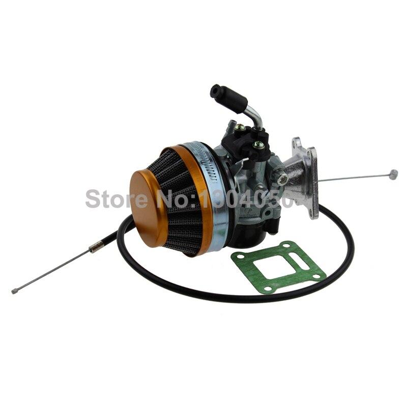 Performance Carburetor Carb Kit 47 cc 49 cc 50cc 60cc 66cc 80cc 2 storke Pocket Mini Bike