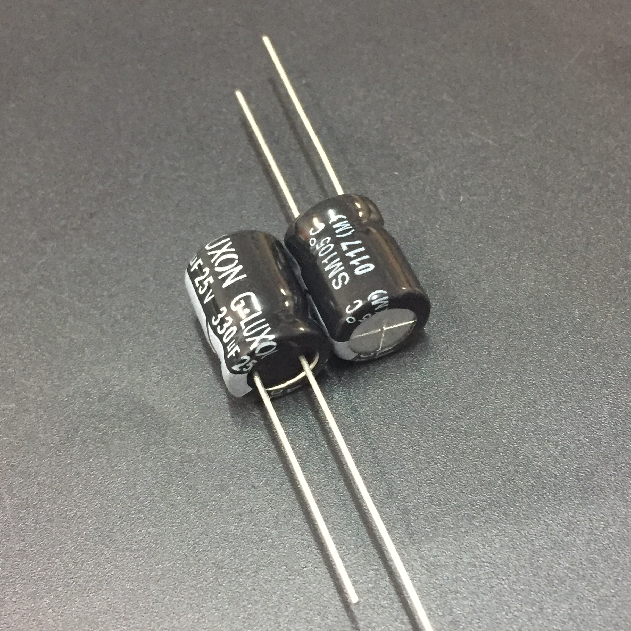 50 PCS 100UF 25V Radial Electrolytic Capacitor The general size NEW