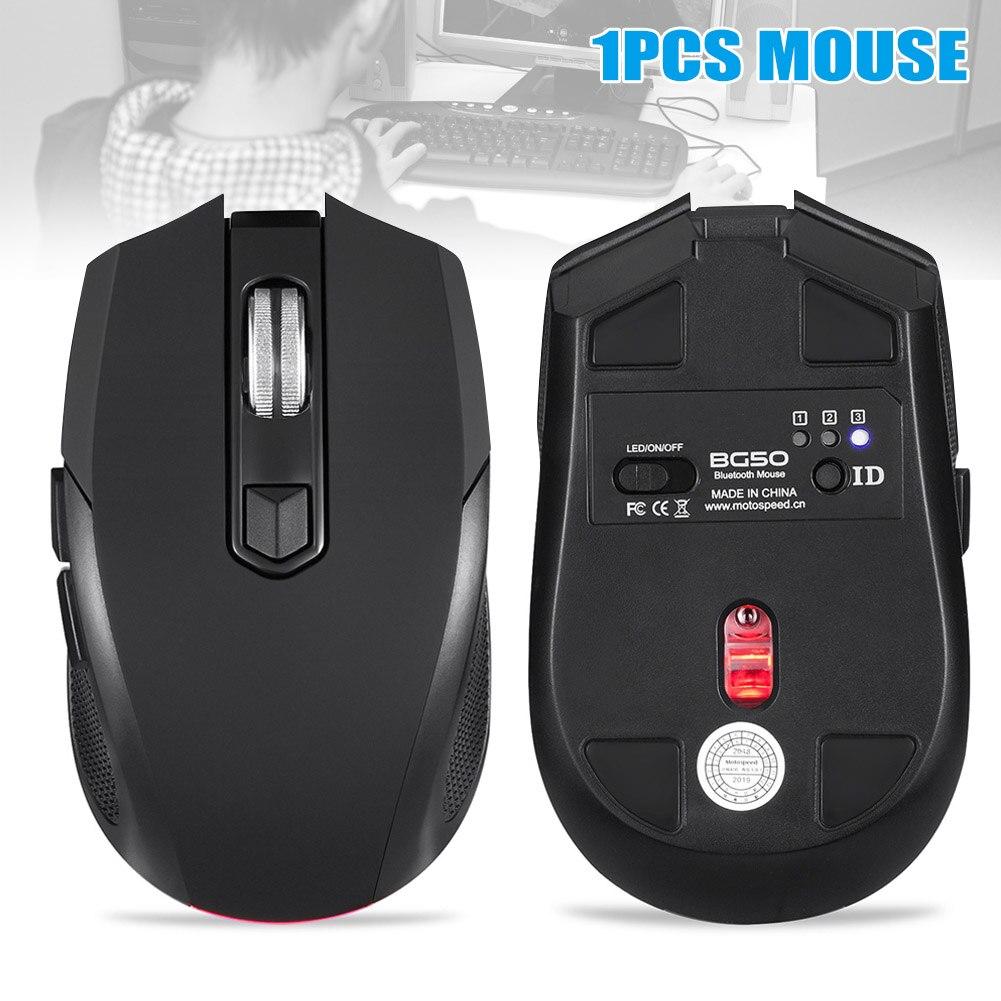 Souris sans fil Bluetooth 2400 DPI avec souris optique rétro-éclairage pour ordinateur portable Gaming SD998