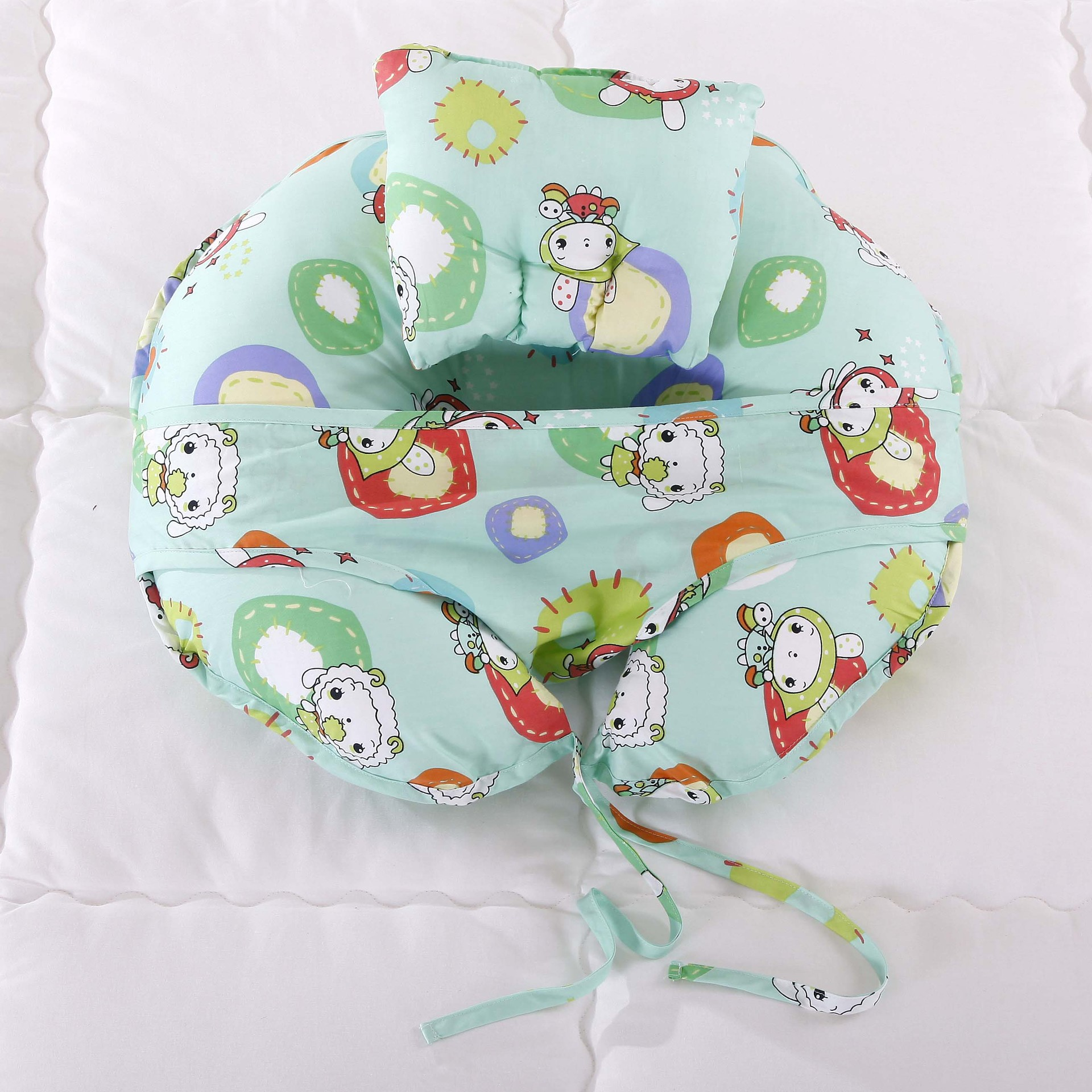 Baby Pillow Chair Gliding For Nursery Sit Up Pregnant Nursing Safety Toddlers Stool