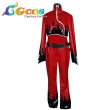 36d89f8bf تأثيري زي KOF الرماد قرمزي فساتين الملابس كيمونو موحدة CGCOS شحن مجاني  DM388(China)