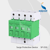 (SP D10) House Surge Protective Device/ Low voltage Arrester Device 10KA~20KA ~385VAC