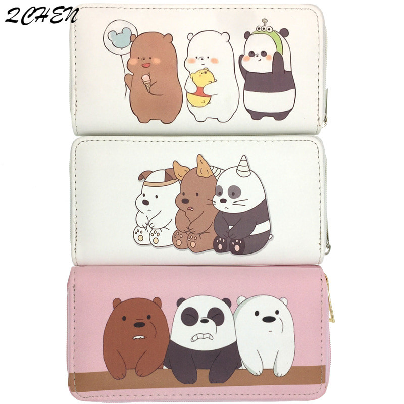 Women Wallet Long Purses Tassel Lovely Bear Coin Purse Card Holder Female High Quality Clutch Money Bag PU Leather Wallets 453