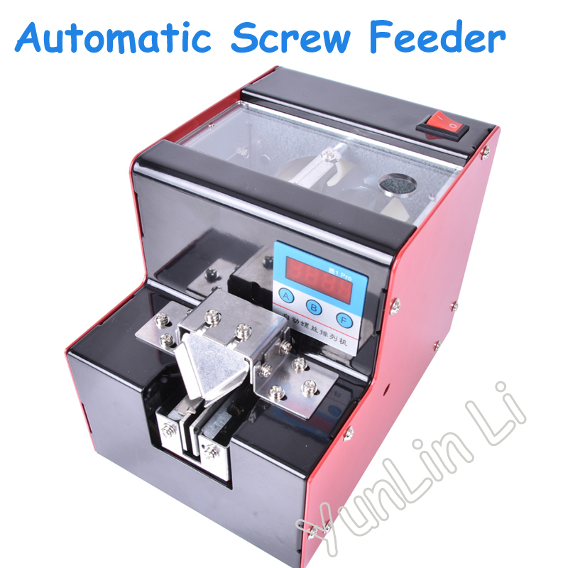 Automatic Digital Display Screw Feeder 110V/220V Precision Screw Dispenser with Counting Function KLD-V3 yamaha pneumatic cl 16mm feeder kw1 m3200 10x feeder for smt chip mounter pick and place machine spare parts