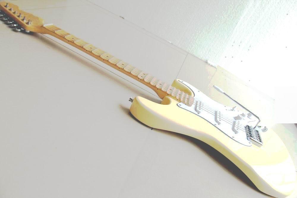 Cheap Guitar Cream Yngwie Malmsteen Scalloped Maple Fretboard Big Head ST 6 String Electric Guitarra In