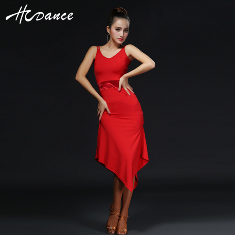 2016new Summer Clothes For Salsa Rumba Cha Flamengo Ballroomballroom Dance Skirt Women Modern Vestidos A317 In Latin From Novelty Special Use On