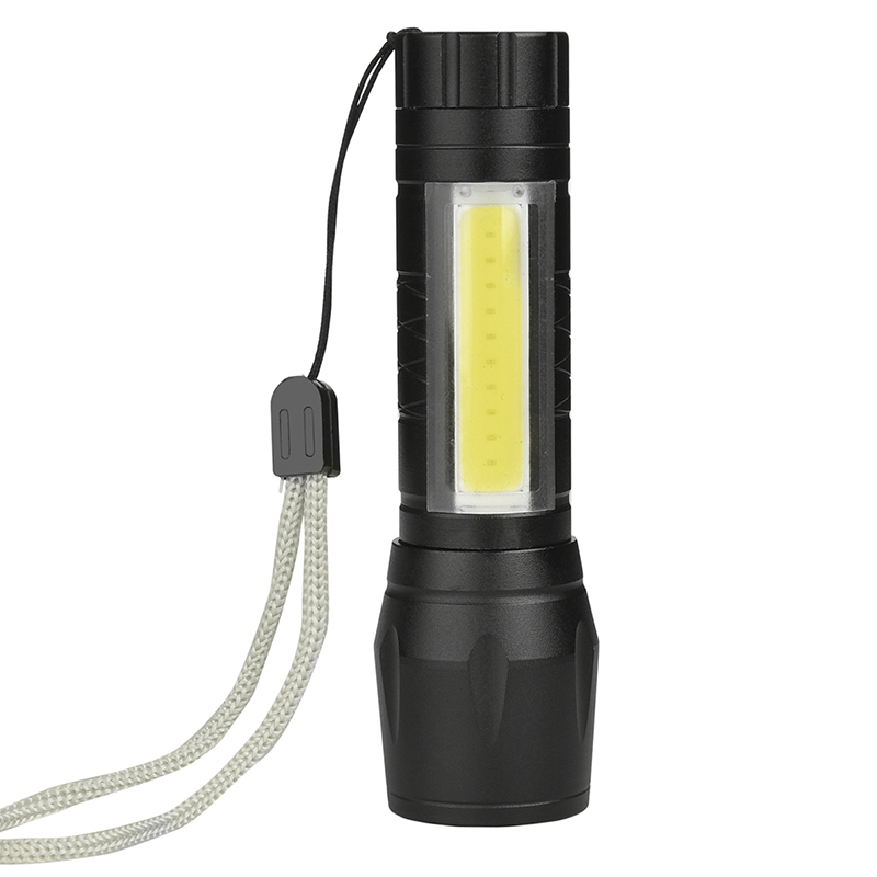 litwod z90 1517 LED Flashlight Q5 COB MINI Torch waterproof light Aluminum alloy lantern 4 Modes for Camping Use 14500 or AA litwod z501516 led mini flashlight led cob waterproof aluminum 1 mode torch use 14500 or aa battery for camping working lantern