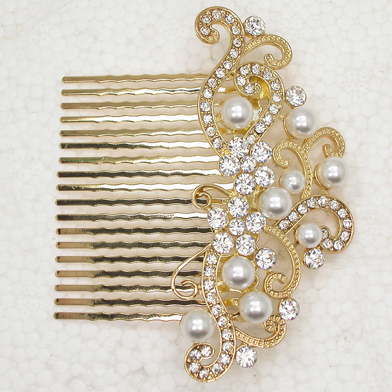 12pcs lot Wholesale Flower Hair Comb Fashion Hair jewelry Wedding party L102