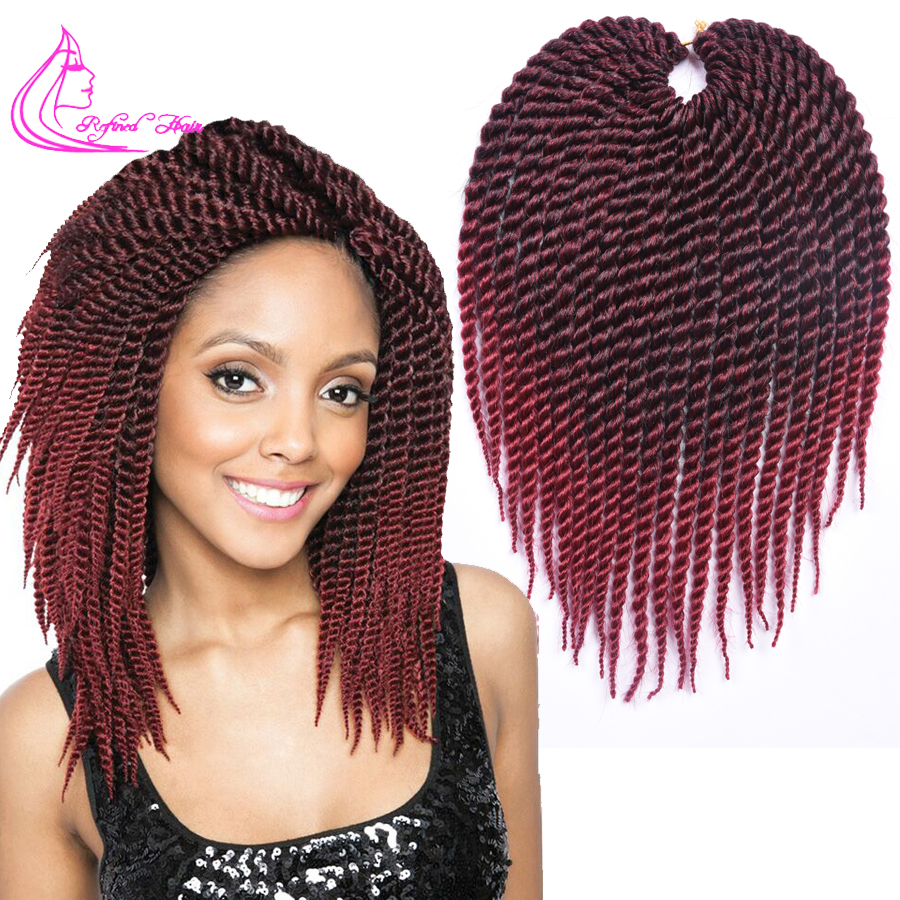 Crochet Hair Packs : Twist Crochet Hair Synthetic Crochet Braiding Hair Extensions 75g/pack ...