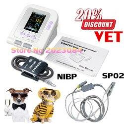 Ce fda monitor de pressão arterial veterinária Contec08A-VET manguito (6-11)+ sonda contec venda quente