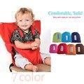 7 цвета Детская Детский Стульчик Автокресло Безопасности Зажим Для Ремня Крышка, портативный Складной Бренд Для Столовой Обед Кормление Детское Сиденье
