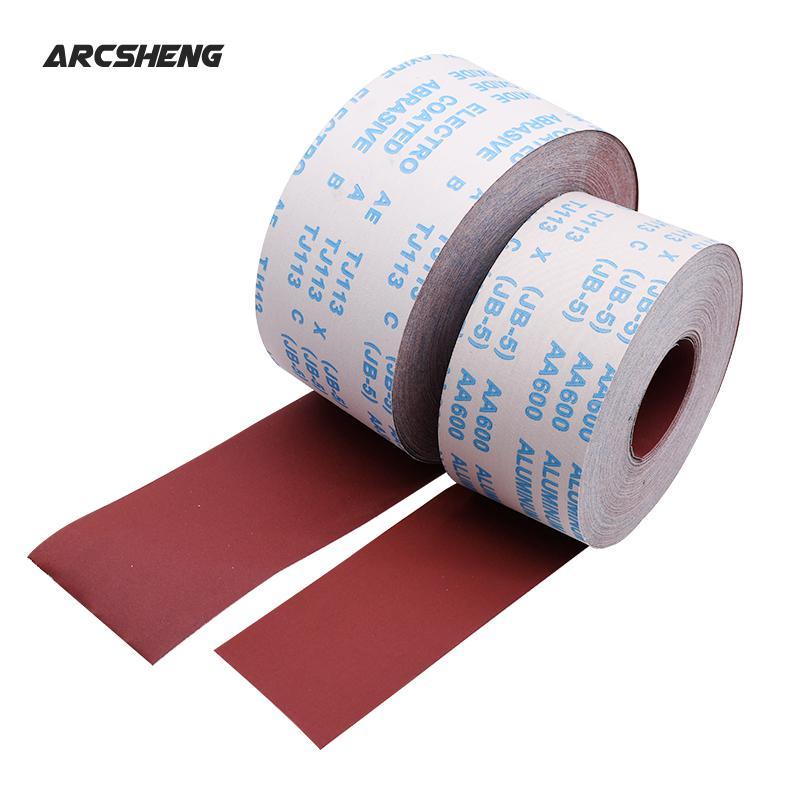 1 Meter 80-600 Grit Emery Cloth Roll Polishing Sandpaper For Grinding Tools Metalworking Dremel Woodworking Furniture