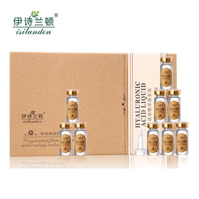 Soro Facial Umidade Ácido Hialurônico Vitaminas Soro Rosto Cuidados Com A Pele Anti Rugas Anti Envelhecimento Colágeno Essência 10 ml * 10 pcs