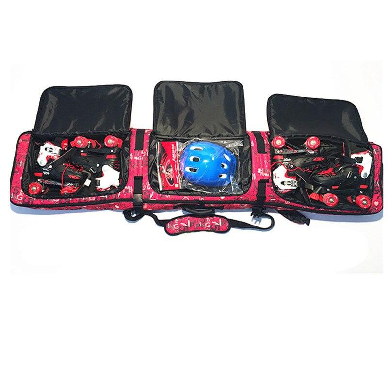 Sacs de ski à roulettes double planche Snowboard paquet épaule ski sac à dos vérifié sacs de ski - 4