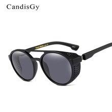 Высокое качество Мода Для мужчин Солнцезащитные очки для женщин Для женщин Круглый прозрачный модной ретро Защита от солнца очки uv400 зеркало очки Мужчины