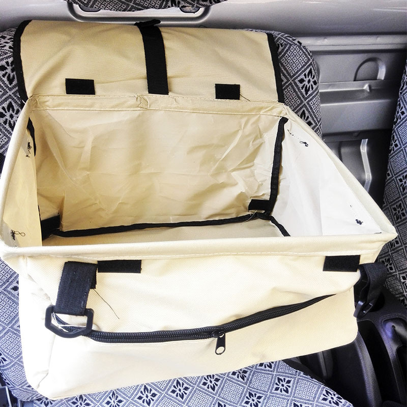 Creative Waterproof Cat dog <font><b>bag</b></font> pet car carrier dog carry storage <font><b>bag</b></font> pet booster seat cover <font><b>for</b></font> travel 2 in 1 carrier bucket ba