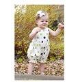 Новый Летний Стиль Младенца Хлопка Боди Пуловер Комбинезоны Моды Тело Младенца Девушка Новорожденный Боди