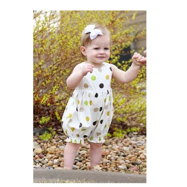 Novo Estilo de Verão Do Bebê Do Algodão Bodysuit Pullover Corpo Do Bebê Recém-nascido Do Bebê Menina Bodysuits Macacões Da Moda