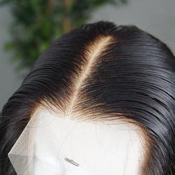 Dolago синтетическое закрытие шнурка волос с ребенком прямые волосы remy натуральный черный цвет натуральные волосы 100% бесплатная часть