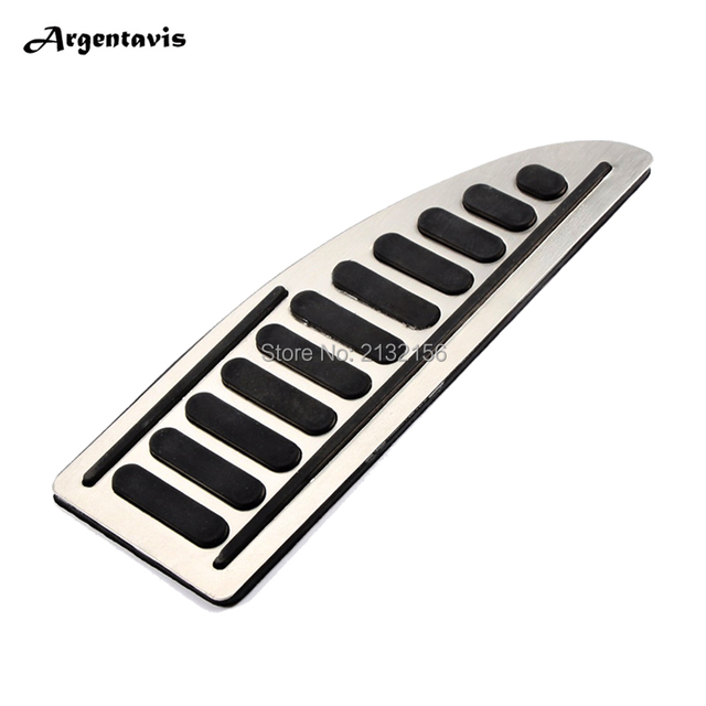 Stainless Foot Rest Pedal cover For Ford Focus Fiesta Mondeo Kuga Footplate Footboard Pedals Auto accessories
