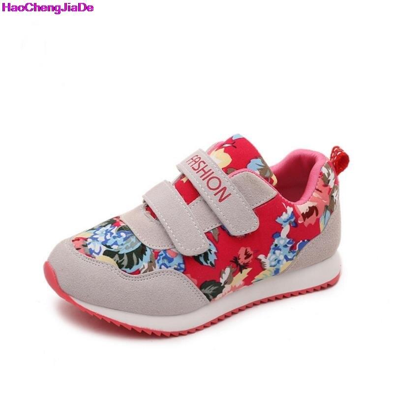 8b479346 Haochenjiade niños zapatos nueva moda bebé niñas zapatillas flores deporte  Zapatillas niños zapatos ultraligeros cómodos planos