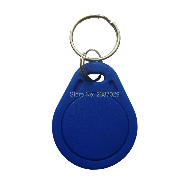 (1000pcs/lot) Proximity RFID Key Fob Passive RFID 13.56mhz Chip Tags Waterproof ABS Writable Proximity Keychain Cheap Price waterproof contactless proximity tk4100 chip 125khz abs passive rfid waste bin worm tag for waste management
