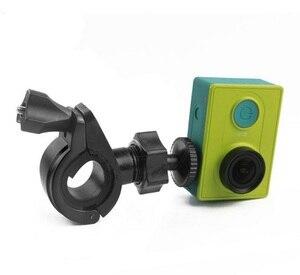 Image 5 - Go pro Accessoires Fiets Moto Stuur Zadelpen Houder voor Xiaomi Yi Gopros Hero 4 3 + Sj4000 Sport camera