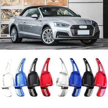 Savanini Alloy Add-On Steering Wheel DSG Paddle Shifters Extension For Audi A5 2017-2019