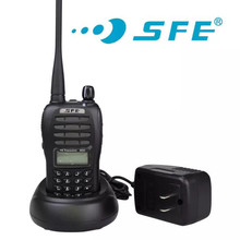 Buy 100% Original 199 Channels SFE Walkie Talkie S850 Two Way Radio With LCD display High Quality directly from merchant!