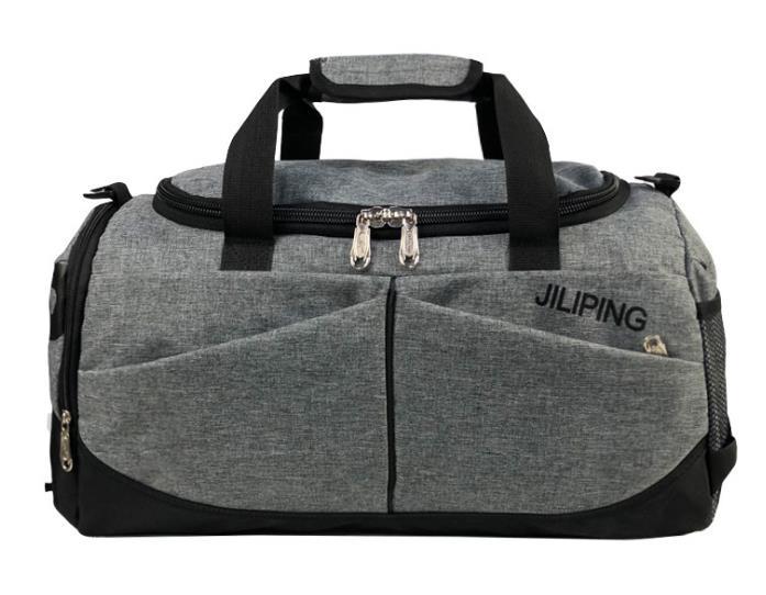 Хит, мужская сумка для путешествий, вместительная, женская, для багажа, для путешествий, сумки для путешествий, мужская, холщовая, большая, для путешествий, складная, сумка на плечо - Цвет: Grey