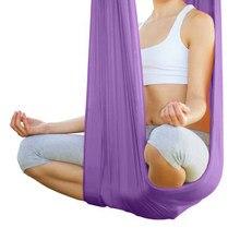 1.1m Yoga Daisy Rope Fitness Exciser Jump Stretch Yoga Belt Swing Hammock Extension Strap For Anti Yoga Gravity Yoga Hammock Easy To Lubricate