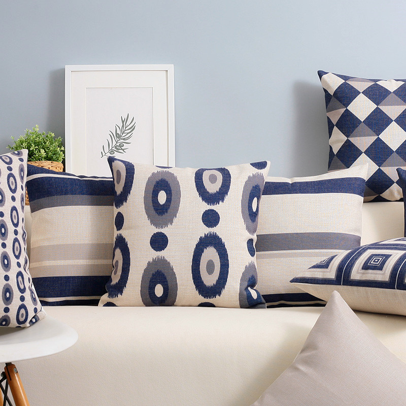 Throw Pillows For Navy Blue Couch : Custom Sofa Pillows Sofa Foam For Couch Cushions Custom - TheSofa