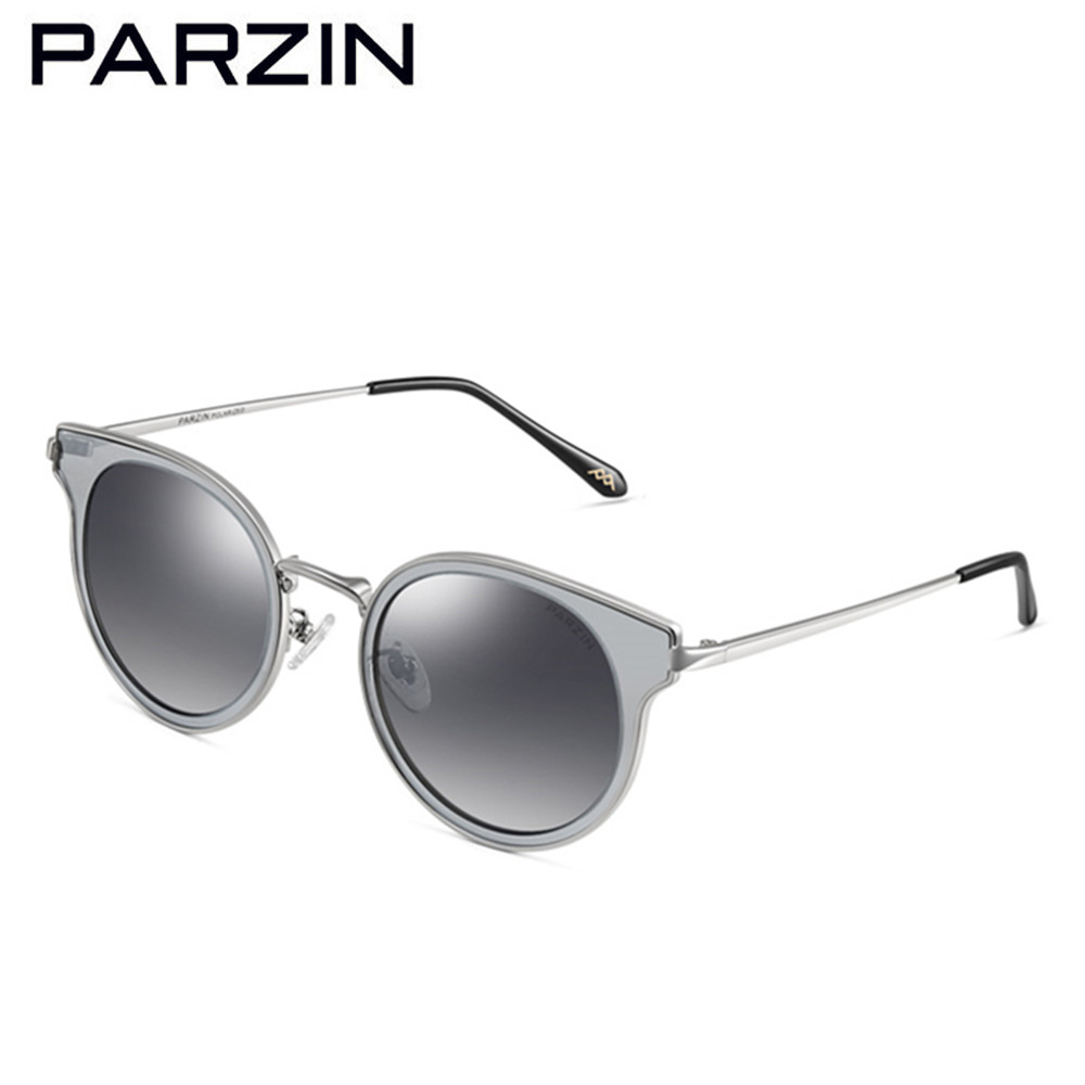 3c04dc3283 Parzin Polarized Sunglasses Women Men Vintage Metal Female Sun Glasses  Colorful Film Ladies Shades Accessories With ...