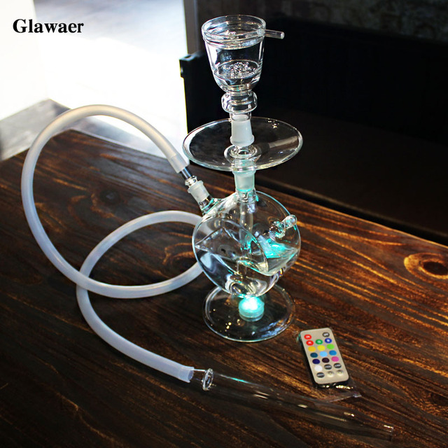 2017 Fashion Clear Glass Hookahs Bowl For Shisha Glass
