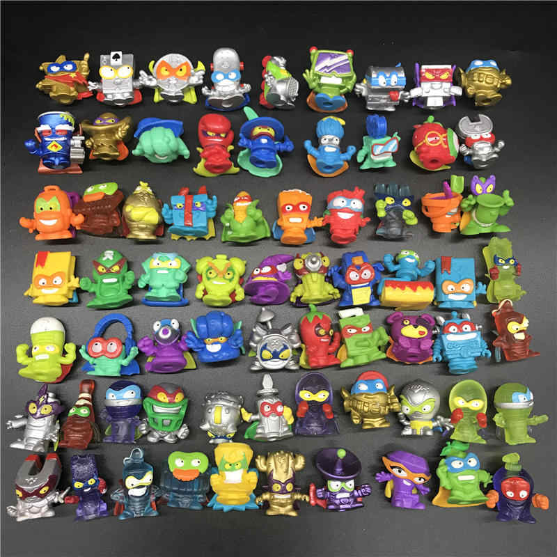 Superzings Super Zings Series 1 2 3 Garbage Doll High Quality Cartoon Anime Action Figures Toy Collection Model Gift Random Aliexpress