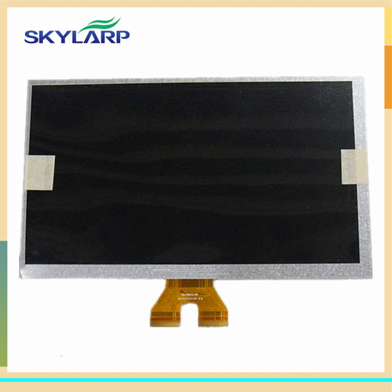 skylarpu 9 inch LCD screen for A090VW01 V0 V.0 Car GPS for A090VW01 V3 V.3 LCD display panel (without touch)