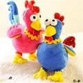 Nova Chegada 30 cm Criativo Kawaii Novidade Multicolorido Grande Galo Frango Boneca de Pelúcia Brinquedos de Pelúcia Presente de Aniversário de Casamento A69