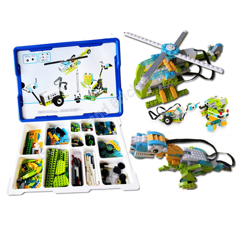 Technic Parts Compatible With Wedo2.0 Educational Functions DIY Parts 45300 WeDo 2.0 Set Building Blocks DIY Toys Gifts