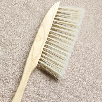 Bamboo Handle Mini Brooms Shovel Set Household Plastic Cleaning Brush Small Broom Dust Shovel 4