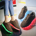 Children USB Charging Led shoes adult  man women With Light Up sneakers Kids Casual Boys Girls Luminous Sneakers Glowing Shoes