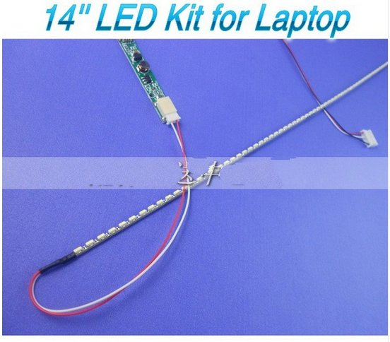 2 stücke x Universellen Ersatz 14 zoll Led-backlight-streifen Kit Update Lcd-schirm Laptop zu LED 290mm