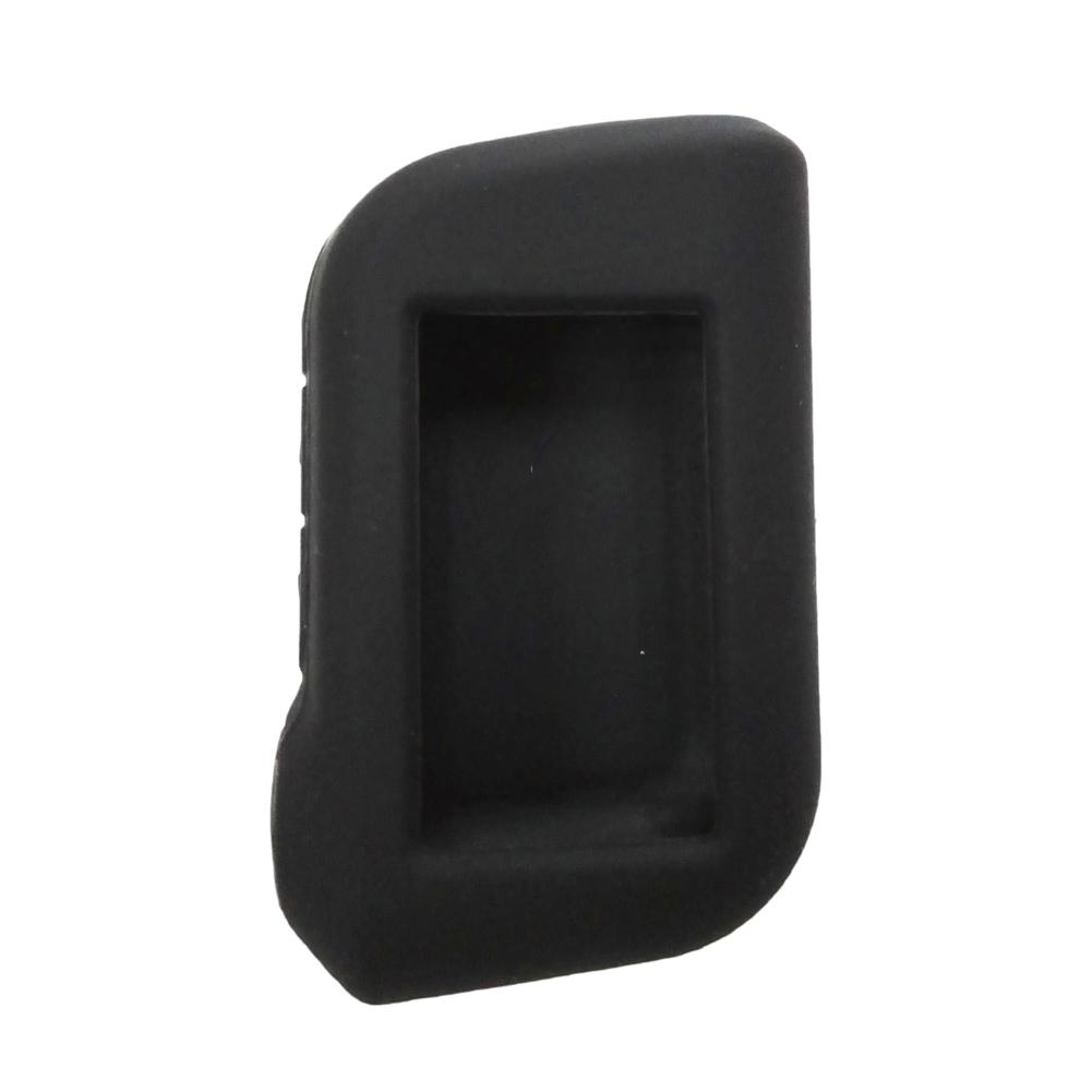 Silicone Case Cover For Starline A93 A63 Two Way Car Alarm System LCD Remote A93 Black Silicone Case Keychain Cover