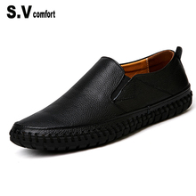 Formal Shoes Man Brand Genuine Leather Moccasins Loafers Men Summer Slip On Flats Comfy Driving Shoes Tenis Feminino Esportivo