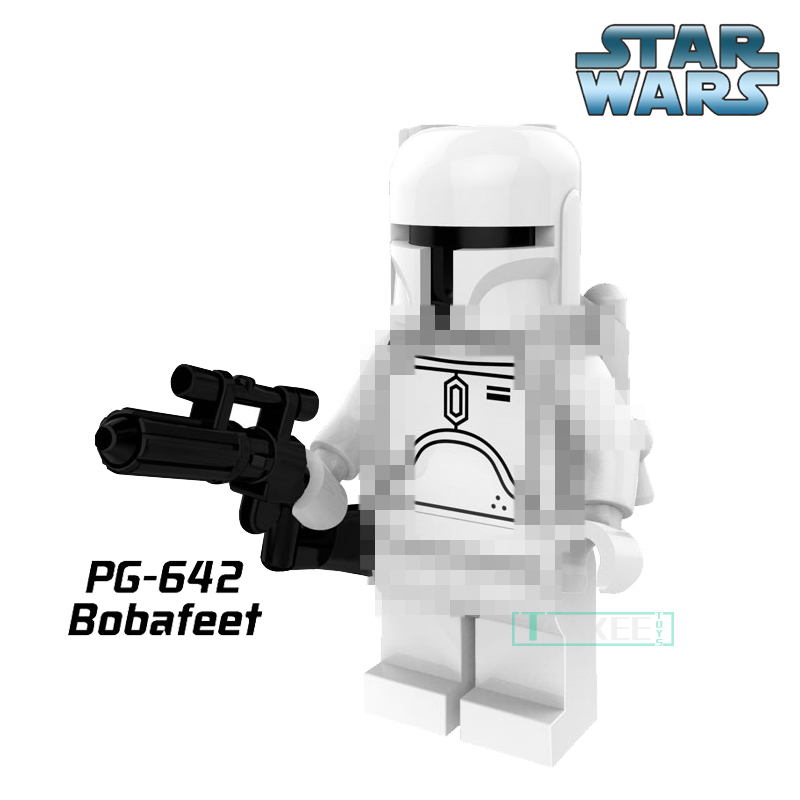 Building Blocks Star Wars White Bobafeet Cloud City Bounty