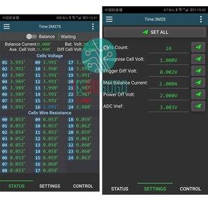 Image 4 - 2A Equalizzatore Attivo del Display Bluetooth APP 2S ~ 24S BMS Li Ion Lipo LTO Lifepo4 Al Litio Titanato Batteria JK Balancer 8S 16S