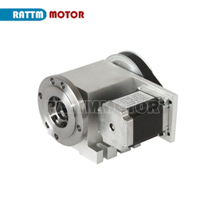 Image 4 - 3 jaw chuck 4th Axis K11 80mm CNC dividing head / Rotation Axis & Tailstock for Mini CNC router engraving
