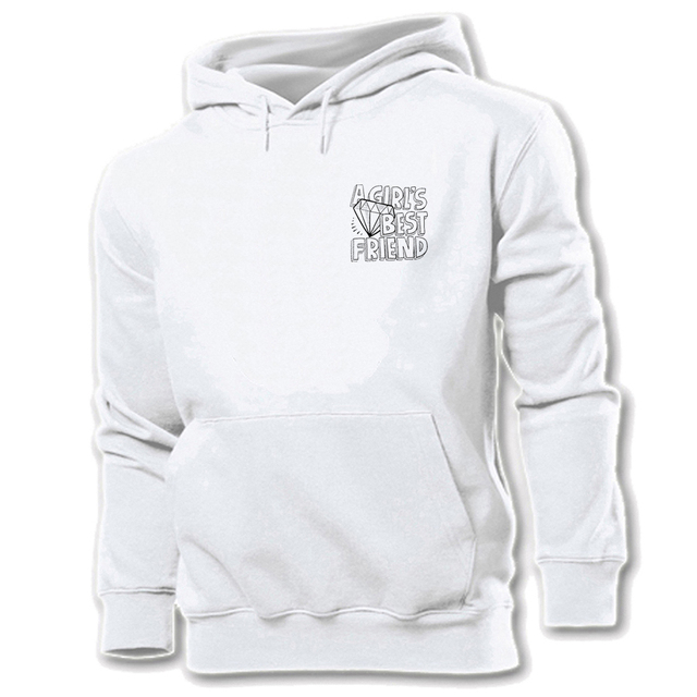 292cd5977a0 Diamonds Are A Girl s Best Friend Design Unisex Graphic Hoodie Sweatshirt  Strings Mens Womens Hooded Tops Pullover Coat
