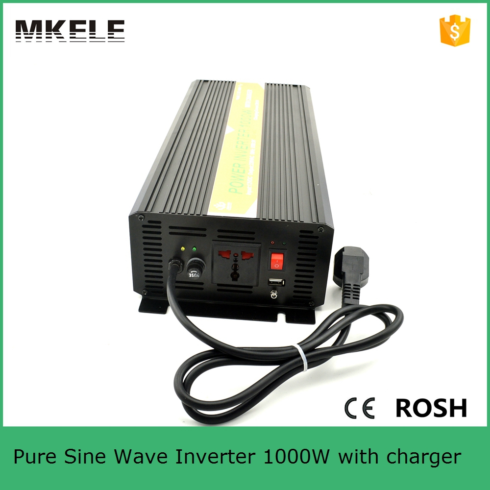 цена на MKP1000-121B-C micro power inverter 12v 110v inverter 1000w power inverter circuit 12v 110v pure sine wave inverter with charger